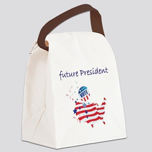 future president Canvas Lunch Bag