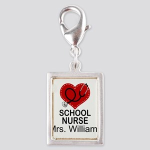 School Nurse Personalized Charms