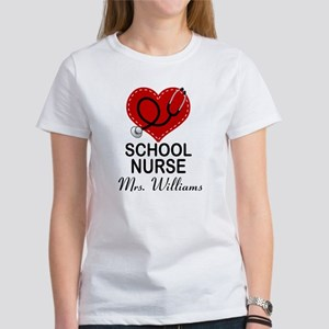School Nurse Personalized T-Shirt