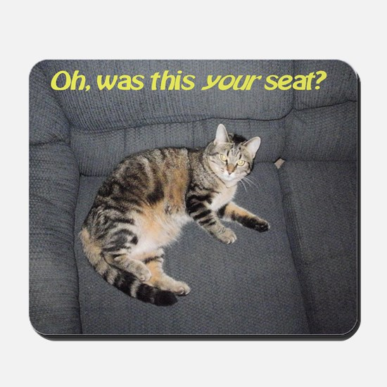 yourseatposter Mousepad