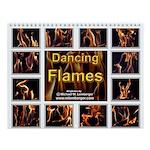 Dancing Flames Wall Calendar
