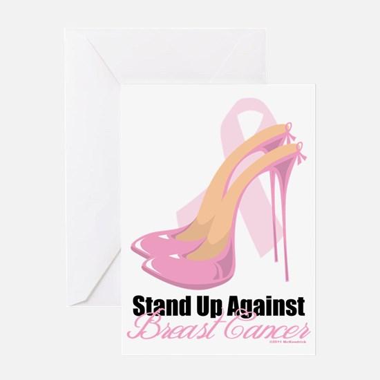 Stand-Up-Against-Breast-Cancer Greeting Card