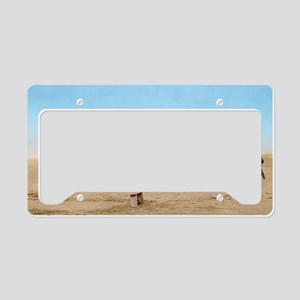 wright 9x12_print License Plate Holder