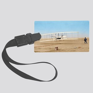Wright 16x20_print2 Large Luggage Tag