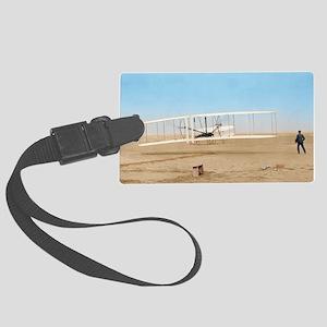 Wright 16x20_print2 Large Luggage Tag