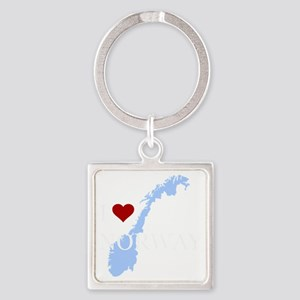 norway Square Keychain
