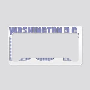 WASHINGTONDC License Plate Holder