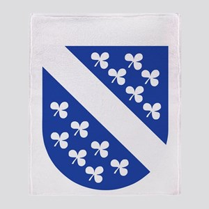 Kassel COA (white) Throw Blanket