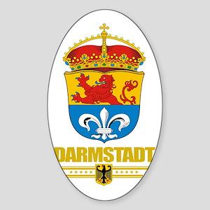 Darmstadt COA Sticker (Oval)