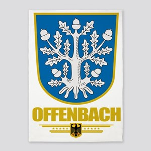 Offenbach COA 5'x7'Area Rug