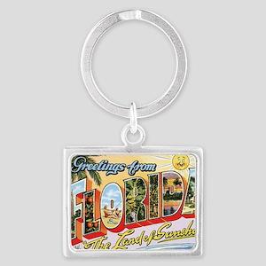 Florida Landscape Keychain