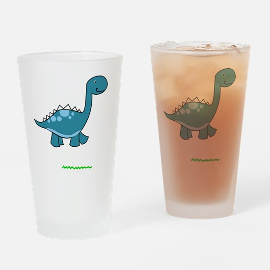 dinosaur2 Drinking Glass