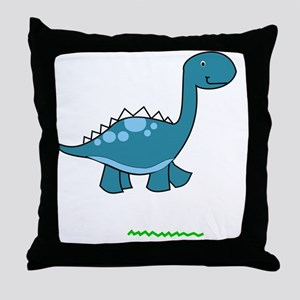 dinosaur2 Throw Pillow