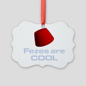 fez-dark Picture Ornament