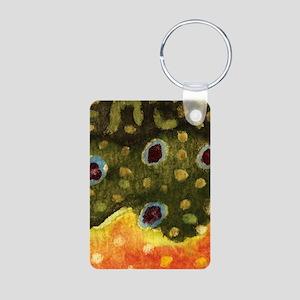 brook_skin_thinnest Aluminum Photo Keychain