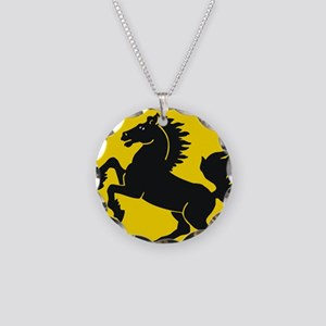 Stuttgart (gold) Necklace Circle Charm