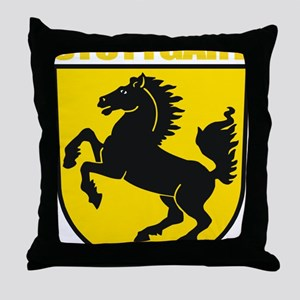 Stuttgart (gold) Throw Pillow