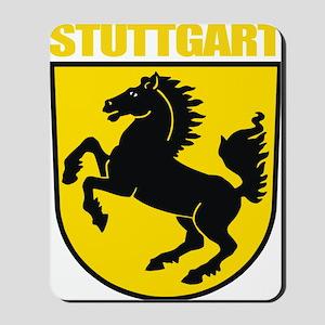 Stuttgart (gold) Mousepad