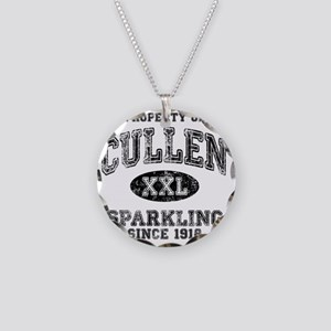 Sparkling Necklace Circle Charm