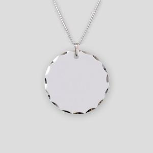 Sparkling -dk Necklace Circle Charm