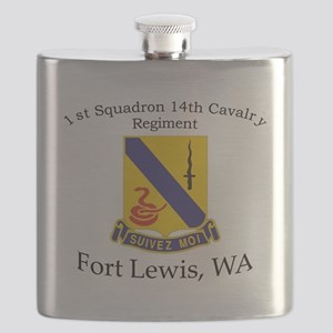 1st Squadron 14th Cavalry Flask