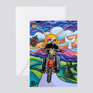 5x7-MC-CountryRoad-MW2B Greeting Card