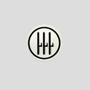 Kingdom of Italy Fascist Roundel Mini Button