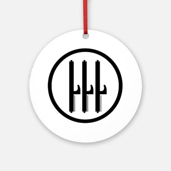 Kingdom of Italy Fascist Roundel Round Ornament
