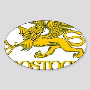 Rostock (Griffin) Sticker (Oval)