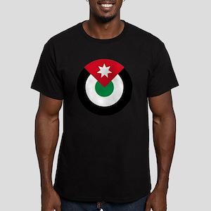 8x10-Roundel-Royal_Jor Men's Fitted T-Shirt (dark)