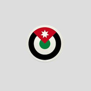 7x7-Roundel-Royal_Jordanian_Air_Force Mini Button