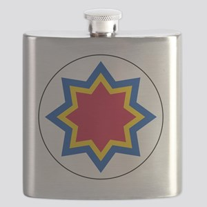10x10-Roundel_of_Moldovan_Air_Force Flask