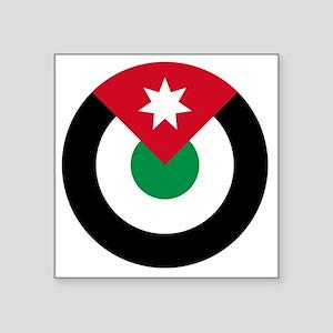 """10x10-Roundel-Royal_Jordani Square Sticker 3"""" x 3"""""""