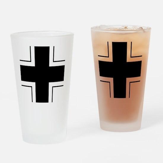 5x5-Balkenkreuz Drinking Glass