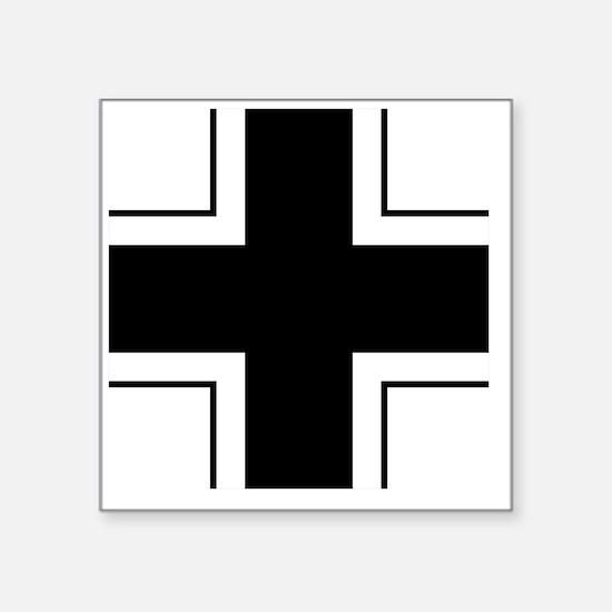 """5x5-Balkenkreuz Square Sticker 3"""" x 3"""""""