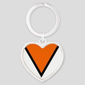10x10-Netherlands_roundel_WW2 Heart Keychain