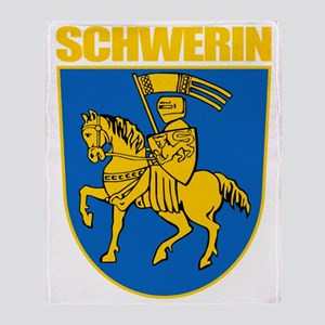 Schwerin (gold) Throw Blanket