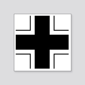"7x7-Balkenkreuz Square Sticker 3"" x 3"""