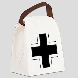 7x7-Balkenkreuz Canvas Lunch Bag