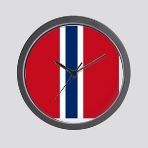 10x10-Norwegian_Army_Air_Service_WW2 Wall Clock