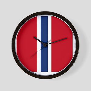 7x7-Norwegian_Army_Air_Service_WW2 Wall Clock
