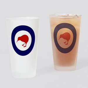 5x5-Rnzaf_roundel Drinking Glass