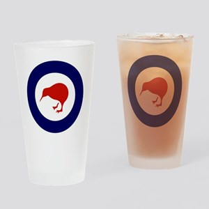7x7-Rnzaf_roundel Drinking Glass