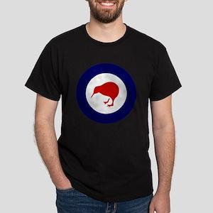 7x7-Rnzaf_roundel Dark T-Shirt