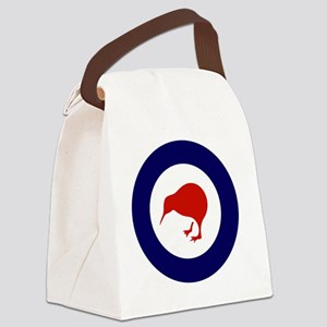 10x10-Rnzaf_roundel Canvas Lunch Bag
