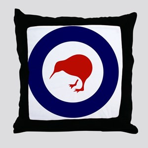 10x10-Rnzaf_roundel Throw Pillow