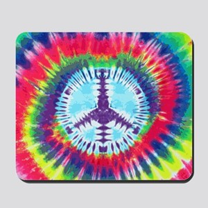 Spiral Peace Laptop Mousepad