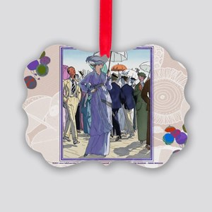10 OCT BRISSAUD HOW BEAUT AT SEA Picture Ornament