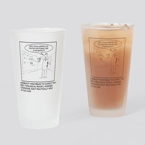 Topology Joke (TS-B) Drinking Glass