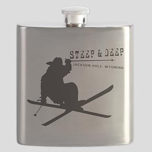 Ski Jackson Hole Flask
